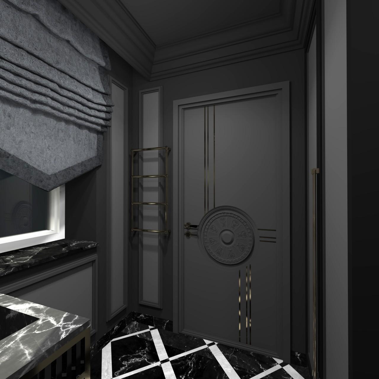 Rūsio interjeras voniai