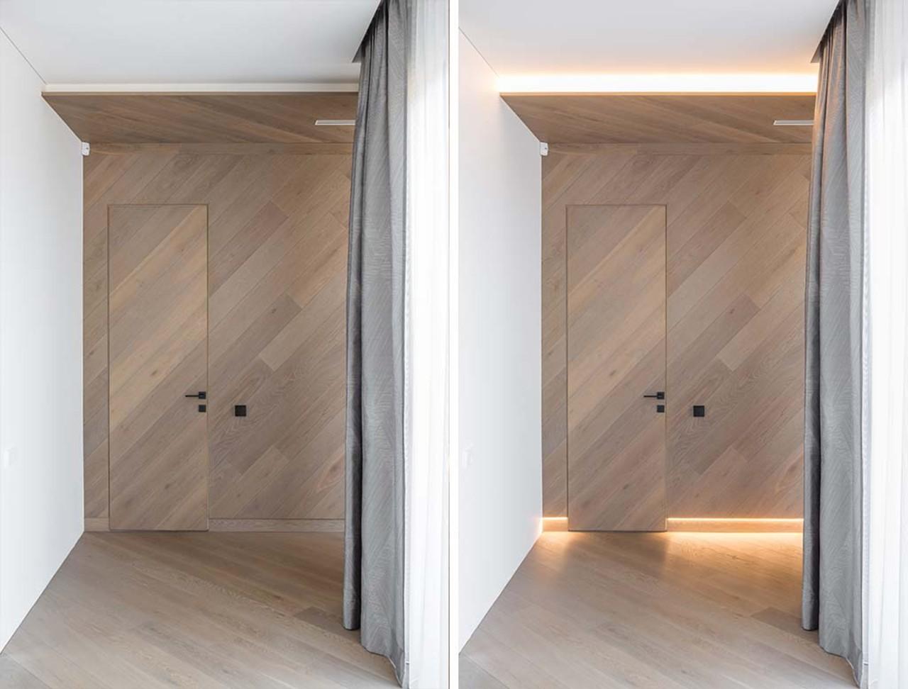 Sodybos interjeras durys